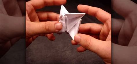 how to make an origami shuriken out of paper