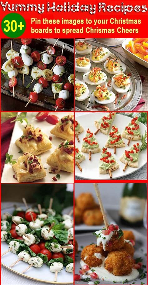 30 holiday appetizers recipes for christmas and new year