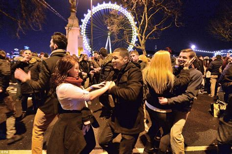 new year celebrations in the uk new year across britain as drunken revellers lose