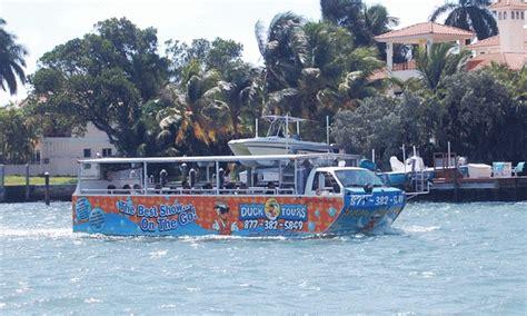 duck key boat tours duck tours fort lauderdale miami duck tours groupon