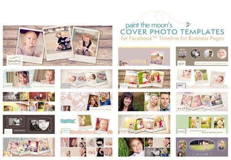 free photographer templates free timeline business page cover templates and