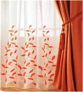 Curtain Color For Orange Walls Inspiration Easy Home Decor Ideas Window Treatment Or Curtain Trends For 2013