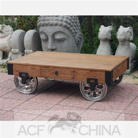 industrial cart coffee table industrial modern warehouse cart coffee table