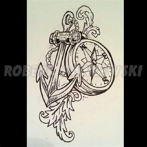 compass tattoo outline nautical compass anchor tattoo www pixshark com images