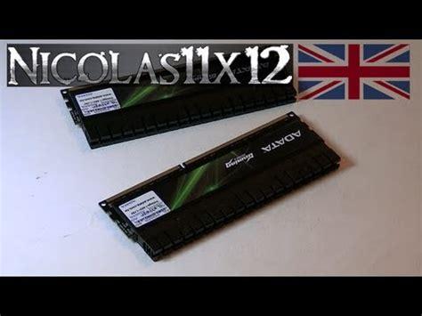 Memory V 8gb By Kiosmelati adata xpg g series v2 0 8gb ddr3 2000 memory review