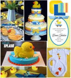 rubber ducky baby shower ideas for the duckling in your