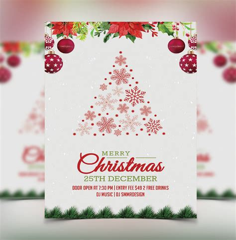 christmas design invitation card 21 christmas invitation templates free sle exle