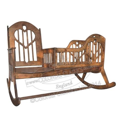 Rocking Chair With Cradle by Nanny Rocker Wooden Rocking Chair Cradle In One By Colonialclassics On Etsy Https Www