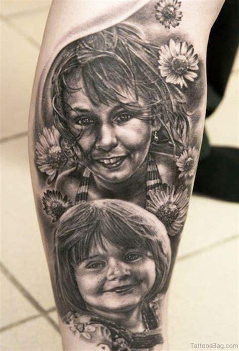 50 outstanding portrait tattoos for leg