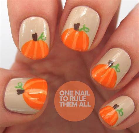 nail pumpkin 25 pretty nail for fall pretty designs