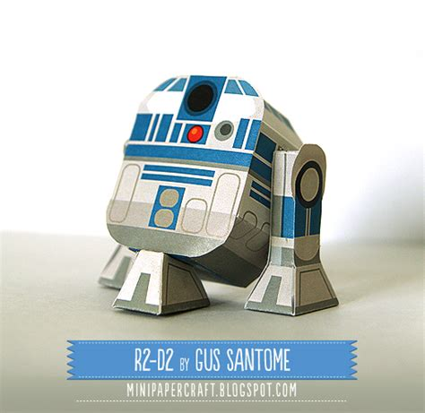 R2d2 Papercraft - awesome papercraft models