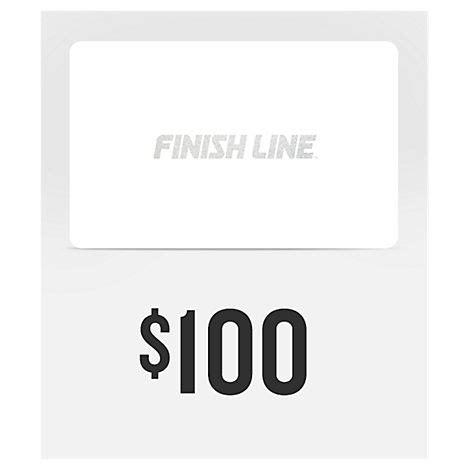 Check Finish Line Gift Card Balance - finish line gift card finish line