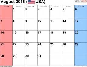 Printable august calendar 2016 images august 2016 calendar f