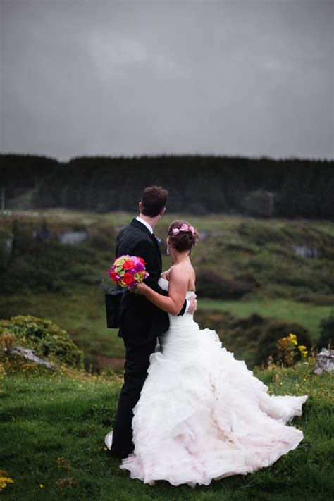 kristy and ben s castle elopement intimate