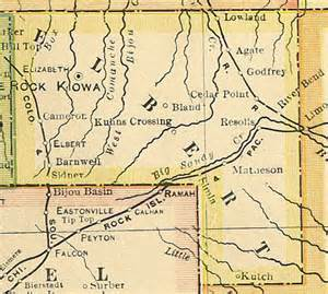 county map for colorado colorado county map