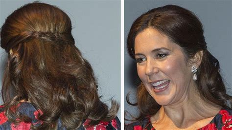 princess mary hairstyles 34 best images about hair do s on pinterest kate