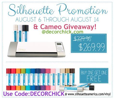 Silhouette Cameo Giveaway - silhouette cameo giveaway vinyl decorchick 174
