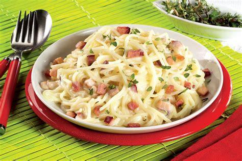 spaghete carbonara retete culinare romanesti  din