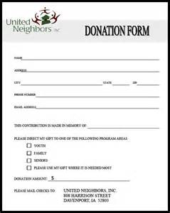 Donations Template 36 free donation form templates in word excel pdf