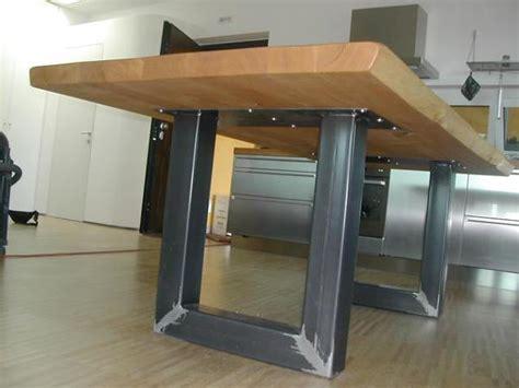 tavolo legno massello grezzo foto gambe tavolo ferro grezzo piano legno massello di