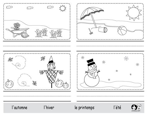 weather pattern in spanish season french worksheets french help for eli pinterest