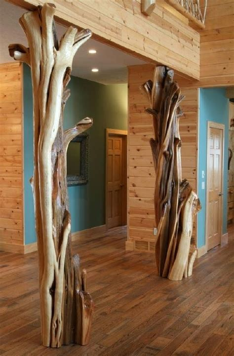 log cabins with log post inside house post pictures decorative log columns pillars and columns pinterest
