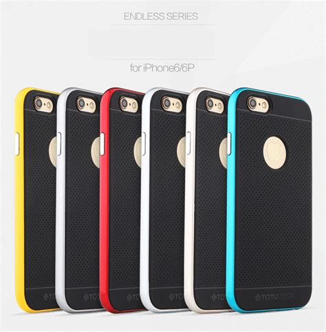 Totu Exquisite Endless Series Tpu Aluminium For Iphone 6 Plus Grey totu resistant protective absorbing technology