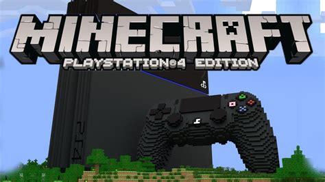 Minecraft Playstation 4 Edition Ps4 Reg 1 Minecraft Ps4 Edition New Worlds