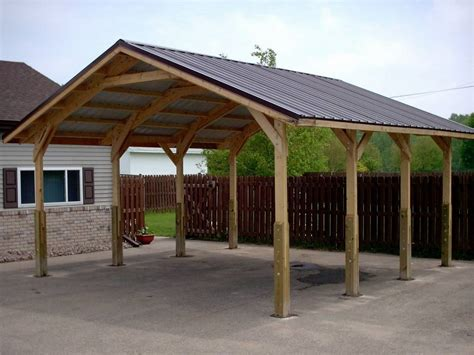 build lean shed roof addition building    trailer