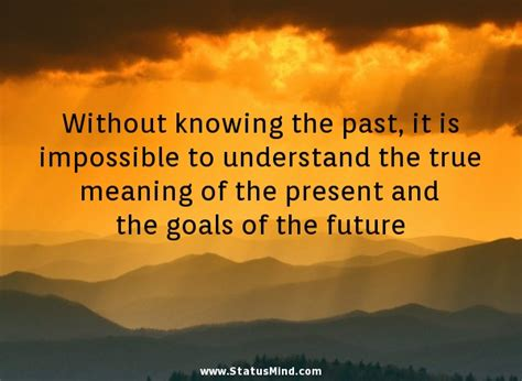 get the past out of the future books without knowing the past it is impossible to