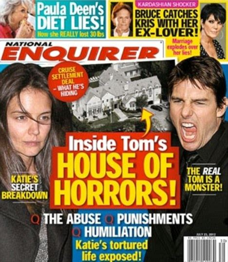 Gossip From National Enquirer by Tom Cruise S Lawyer Blasts The National Enquirer
