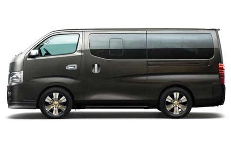 nissan caravan side view nissan releases details of next generation nv350 truck
