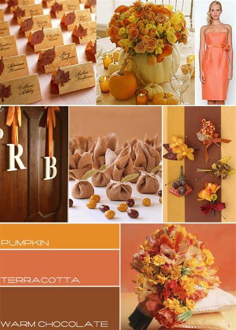 wedding colour themes autumn diy centerpiece the high life suite fashion food love