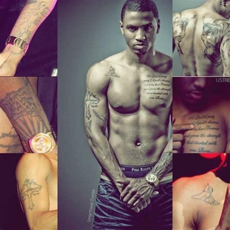 tattoo of us trey the many sexy body of trey songz trey songz pinterest