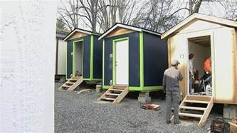Small Home Communities Seattle Tiny House For The Homeless Homestead Guru