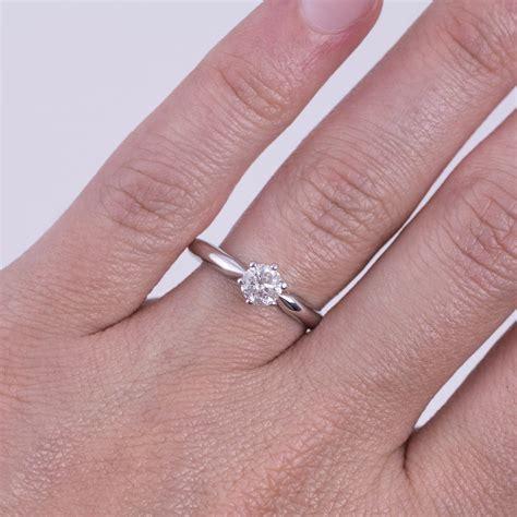 Verlobungsring Gold Mit Diamant by Klenota Verlobungsring Mit Diamant Aus Wei 223 Gold