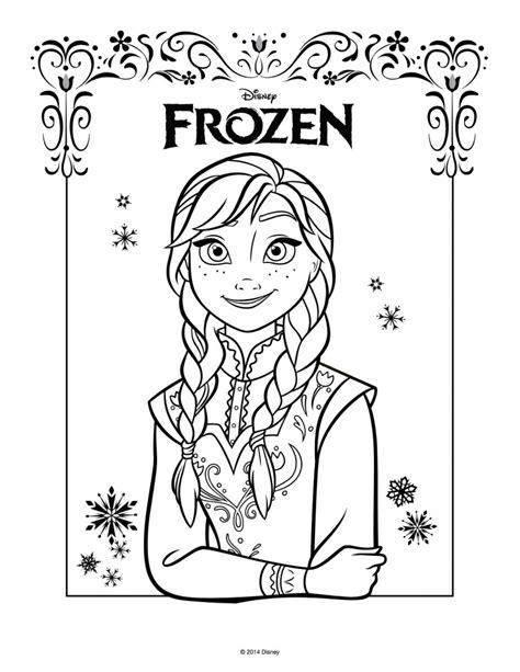 anna coloring pages pdf disegni da colorare di frozen da stare gratis anna