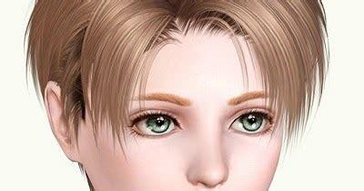 levi hair for the sims3 kewai dou my sims 3 blog kewai dou levi hair for boys
