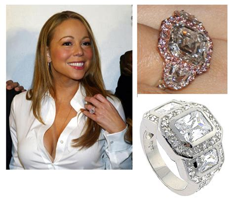 a look at celebrity engagement rings madailylife