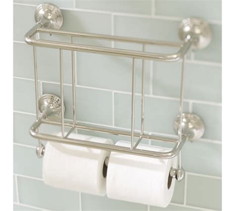 wall mount bathroom magazine rack mercer magazine rack paper holder pottery barn