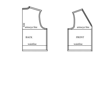 free printable vest pattern fashion sewing patterns inspiration community and