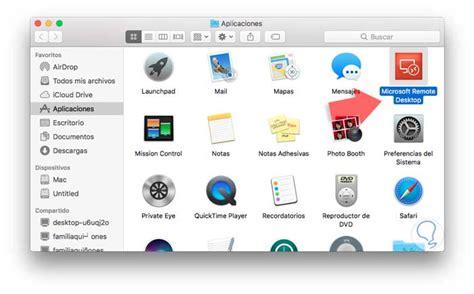escritorio remoto mac escritorio remoto de windows 10 a mac y viceversa solvetic