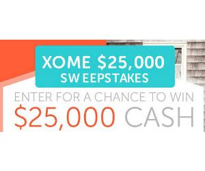 win 25 000 from xome s home remodel sweepstakes free sweepstakes contests giveaways - Xome Home Remodel Sweepstakes