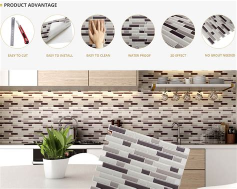 kitchen backsplash stickers 2018 mosaic tile stickers sticky mosaic tiles clever mosaics
