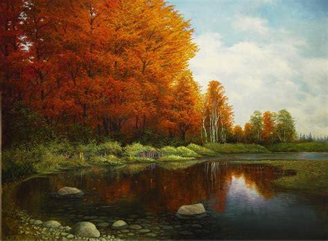 imagenes artisticas con autor hermosas pinturas de paisajes obras de arte im 225 genes