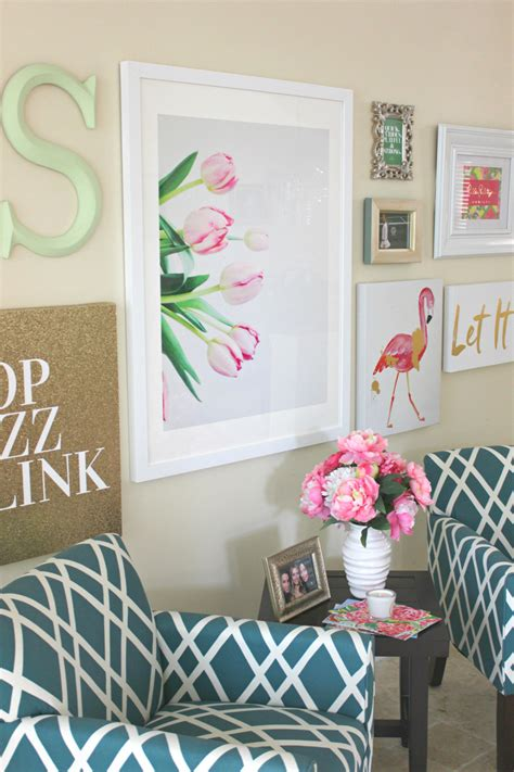 wall art collage lilly pulitzer inspired wall art collage diary of a