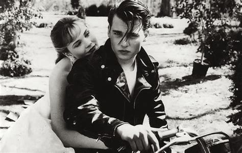 prison greaser haircut cry baby johnny depp in john waters 50s high school