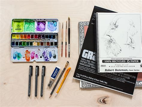 Drawing Supplies by Toolbox My Favorite Drawing Supplies
