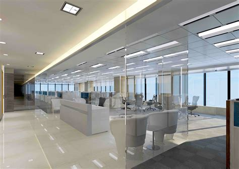 hong kong office building interior cgi
