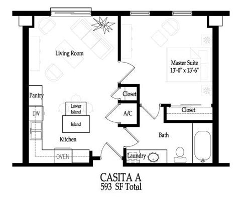small guest house floor plans small casita floor plans casita home plans 187 home plans
